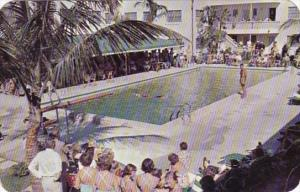 Florida Fort Lauderdale The Escape Hotel Swimming Pool 1952