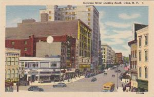 Genesee Street Looking South, Store Fronts Including A Drug Store/Pharmacy, U...