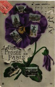 CPA Une pensée de Paris (301641)