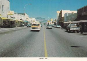 A view of the Main Street,  Oliver,  B.C.,  Canada,   50-70s