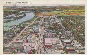 AUGUSTA, Georgia , 1910-20s ; Bird's Eye View