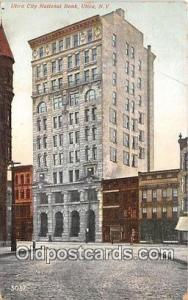 Utica City National Bank Utica, NY, USA Postcard Post Card Utica, NY, USA Pos...