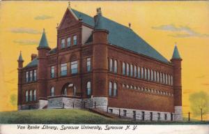 Exterior, Van Ranke Library,  Syracuse University, Syracuse, New York,  00-10s