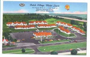 New Castle DE Dutch Village Motel Hojo US 40 Howard Johnson