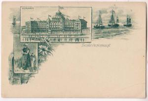 Kurhaus, Scheveningen, Herring Fishing Parade 1901