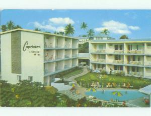 Pre-1980 CAPRICORN MOTEL Suva FIJI HQ1131