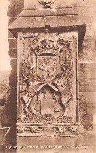 Royal Arms of Scotland on Melrose Abbey Scotland, UK Unused