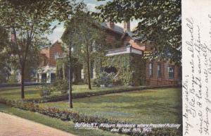 New York Buffalo Milburn Residence Where President McKinley Died 1907