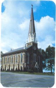 Trinity-Great Swamp-Church Spinnerstown, Pennsylvania, PA, Chrome