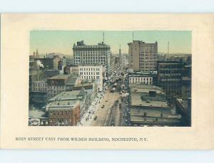 Unused Divided-Back STREET SCENE Rochester New York NY F0902