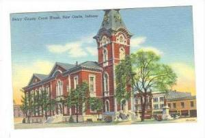 Court House, New Castle, Indiana, PU-1945