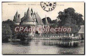 Postcard Old Bazouges sur le Loir Chateau
