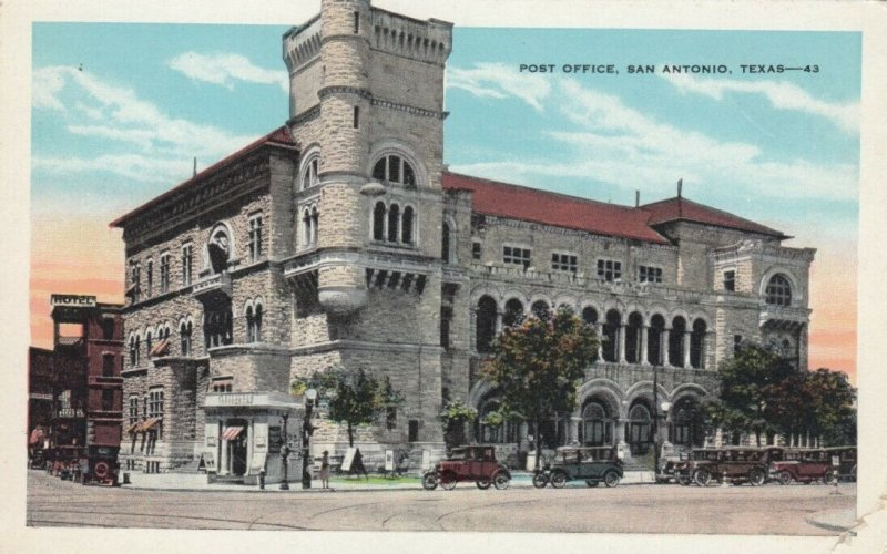 SAN ANTONIO , Texas, 1910s ; Post Office
