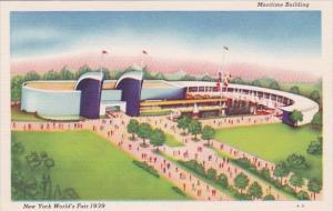 Maritime Building New York World's Fair 1939