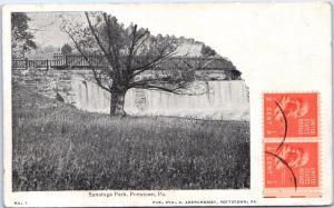 POTTSTOWN,  PA Pennsylvania    Sanatoga Park    c1900s  PM   1949    Postcard