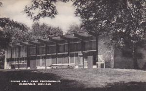 Dining Hall Camp Friedenswald Cassopolis Michigan Artvue