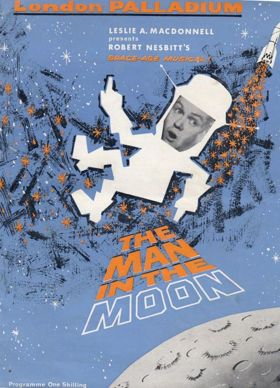The Man In The Moon Charlie Drake Theatre Programme