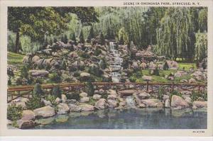 New York Syracuse Scene In Onondaga Park