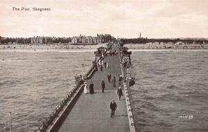 The Pier, Skegness, England, Early Postcard, Unused