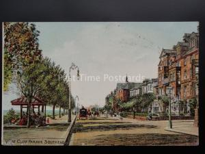 Essex: Southend on Sea WEST CLIFF PARADE c1905 by S.Hildesheimer & Co No.601