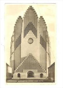 RP, The Grundtvig Church, Grundtvigskirken (Arkitekt Jensen Klint), Kobenhavn...