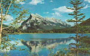 Canada Alberta Banff Mount Rundle