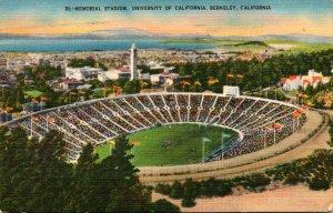 Memorial Stadium University Of California Berkeley California 1951
