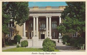 Exterior, Sumter County Court House,  Sumter,  South Carolina,  40-60s