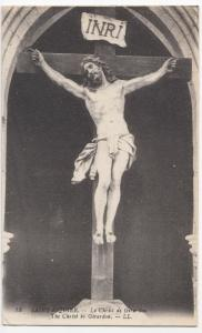 France; St Riquier, The Christ By Girardon PPC By Levy, LL 13, Unposted