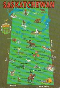 Canada Map Of Saskatchewan