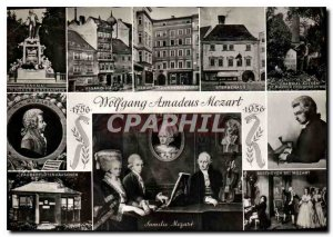 Old Postcard Wolfgang Amadeus Mozart