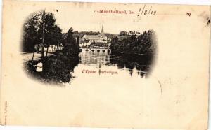 CPA MONTBÉLIARD le . 9/8/02 - L'Église catholique (183048)