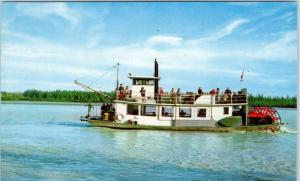 FAIRBANKS, Alaska  AK     Sternwheeler  DISCOVERY  Sight Seeing Boat  Postcard