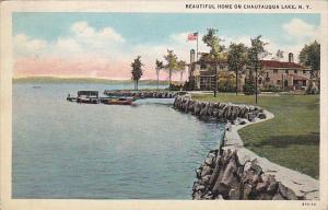 Beautiful Home on Chautaqua Lake, New York, PU-1937
