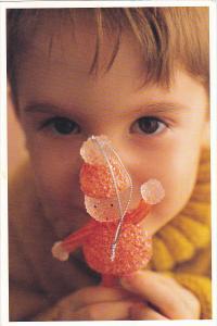 Advertising Martha Stewart Gumdrop and Candy Cane Novelty Ornament Kmart