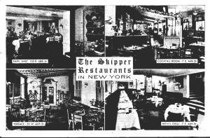 New York City The Skipper Restaurants 1948