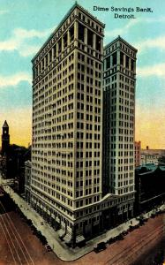 MI - Detroit. Dime Savings Bank Building
