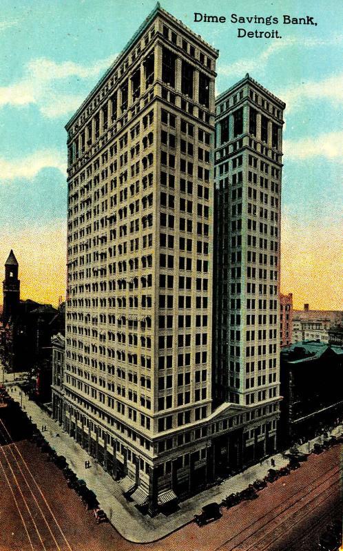 MI - Detroit. Dime Savings Bank Building