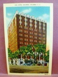 Postcard SC Columbia Hotel Columbia
