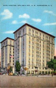 Washington D C Hotel Hamilton 1952
