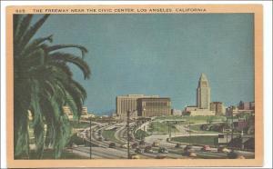 Freeway near Civic Center, Los Angeles CA
