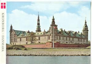 Denmark, KRONBORG CASTLE, unused Postcard