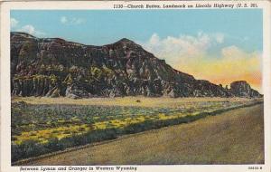 Lincoln Highway: Between Lyman & Granger , Western Wyoming , 1930s