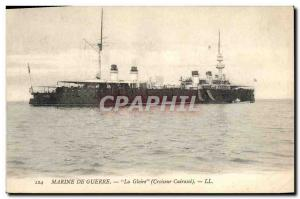 Old Postcard Boat Cruiser Glory Breastplate