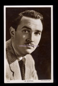 b6515 - Film Actor - Lee Bowman - Picturegoer No.W.736 - postcard