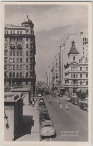 JOHANNESBURG - SIMMONDS STREET - Barclays Bank in view  1940/50s