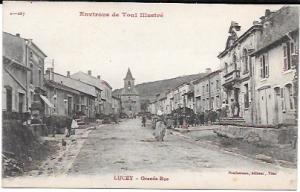 France.  Lucey - Grande Rue
