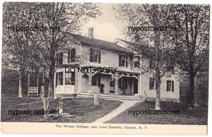 Wilson Cottage, Lake Queechy, Canaan NY