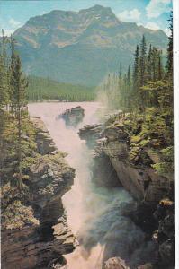 Canada Alberta Jasper Athabasca Falls Jasper National Park