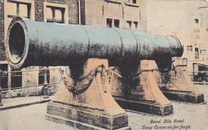 Belgium Gent Gand Vieux Canon en fer forge